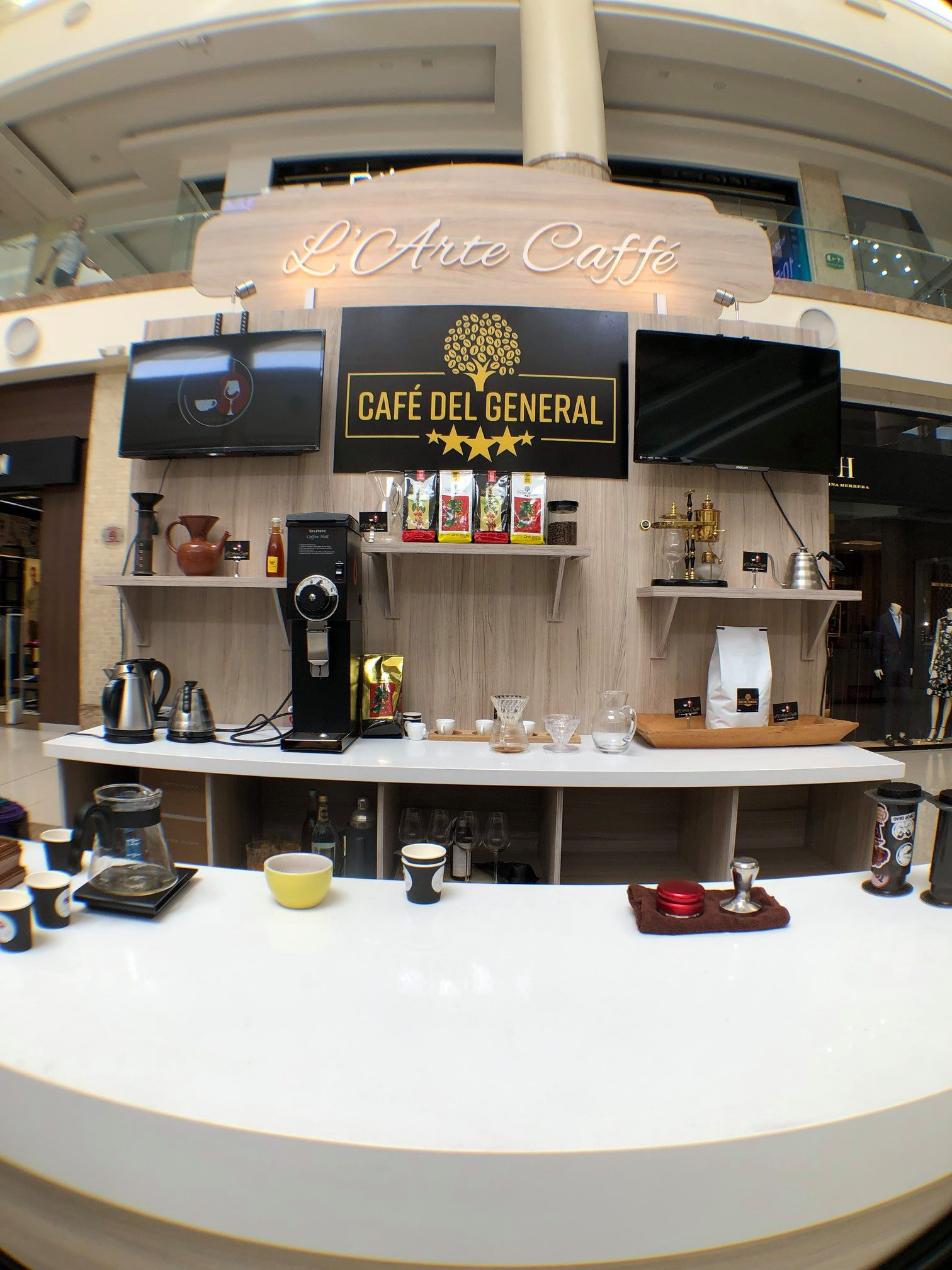 Cafe del General coffee show 2